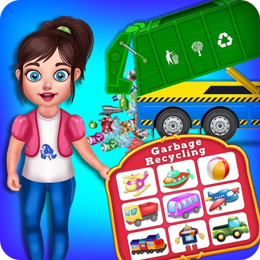 Garbage Truck & Recycling Game