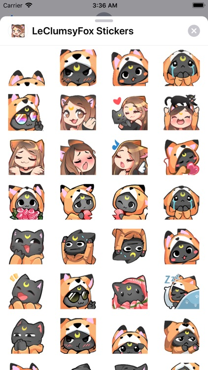 LeClumsyFox Stickers