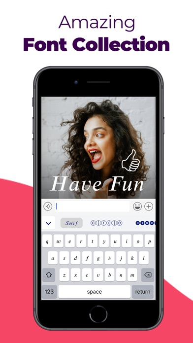 messages.download Happy Fonts, Aα, Font Keyboard software