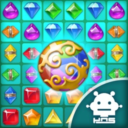 Paradise Jewel: Match-3 Puzzle