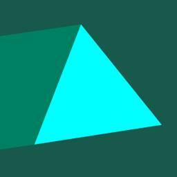 Ícone do app Trigono - dangerous triangles