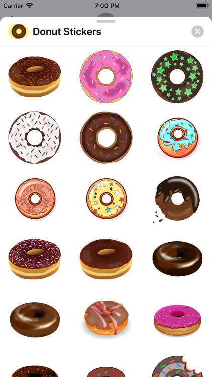 Lotsa Donut Stickers screenshot-0