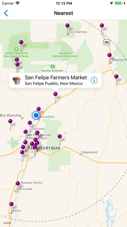 Farmers' Market Locator