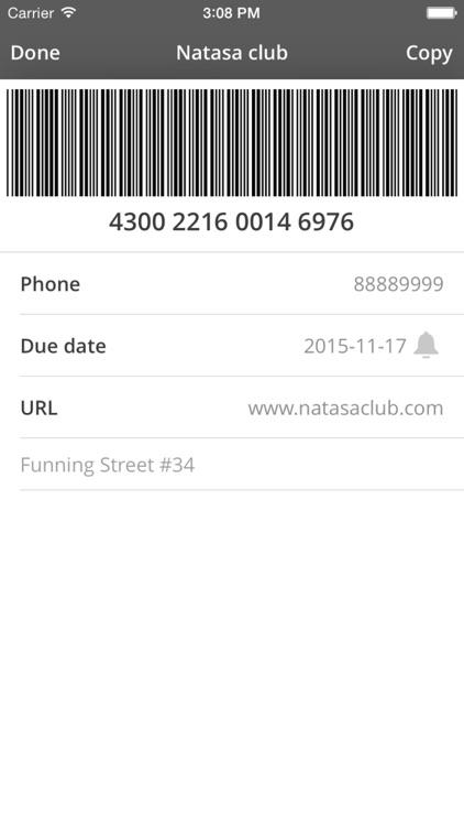 Card Mate - credit wallet screenshot-4