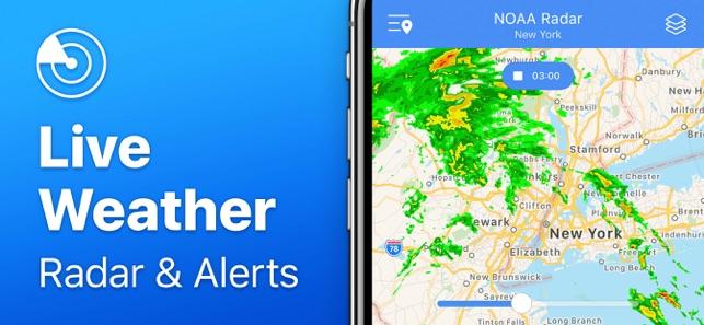 Weather Radar NOAA⁺ on the App Store on
