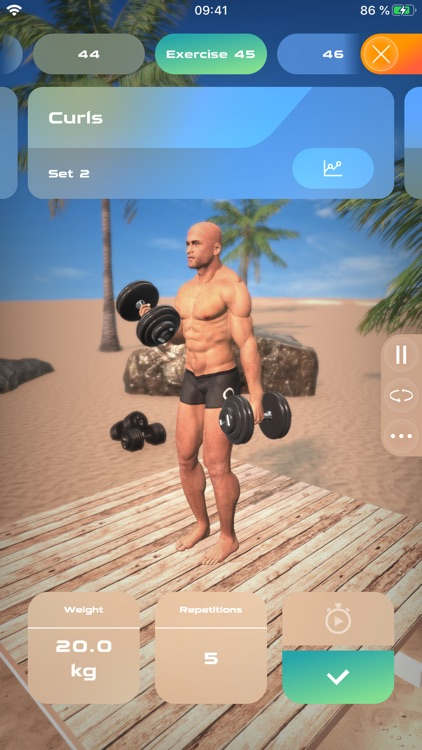 Gymnotize Fitness Workout App screenshot-1