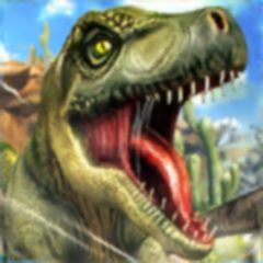 Jurassic Race Run: Dinosaures