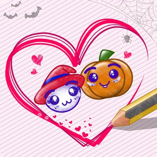 Love Story : Draw Physics Line