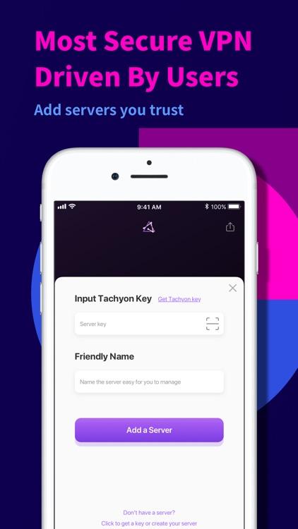 Tachyon VPN - Private Proxy screenshot-5