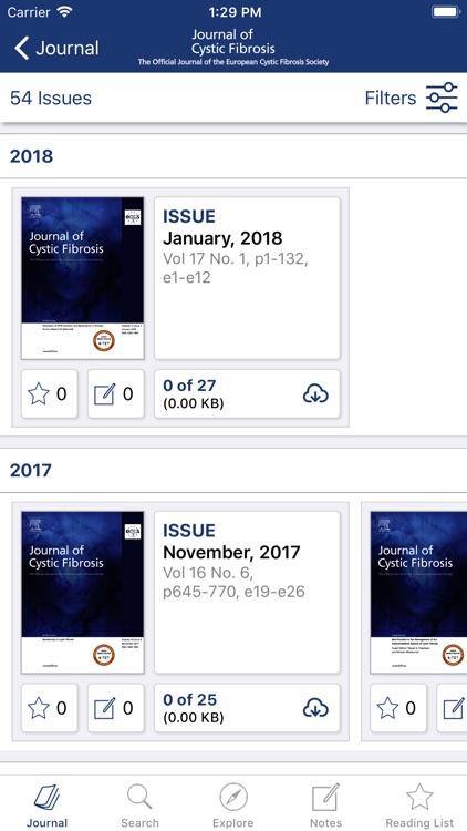 The Journal of Cystic Fibrosis screenshot-3