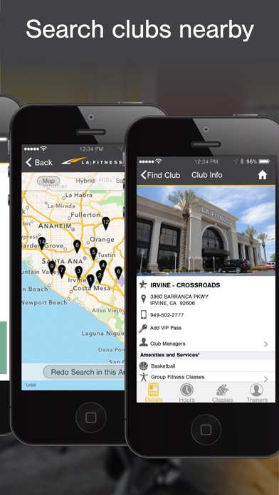 La Fitness Mobile review screenshots