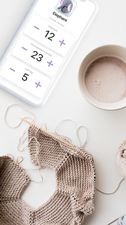 Knit it: Simple rows' counter
