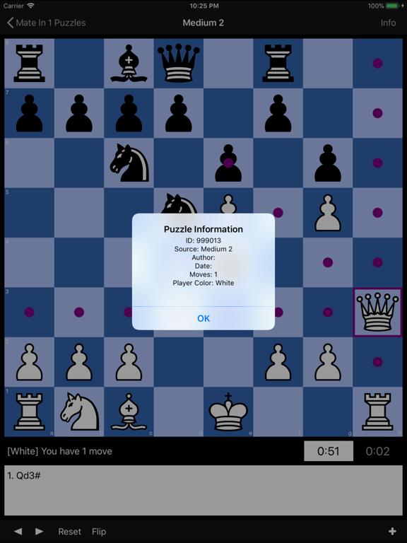 Mate in 1 Chess Puzzlesのおすすめ画像3