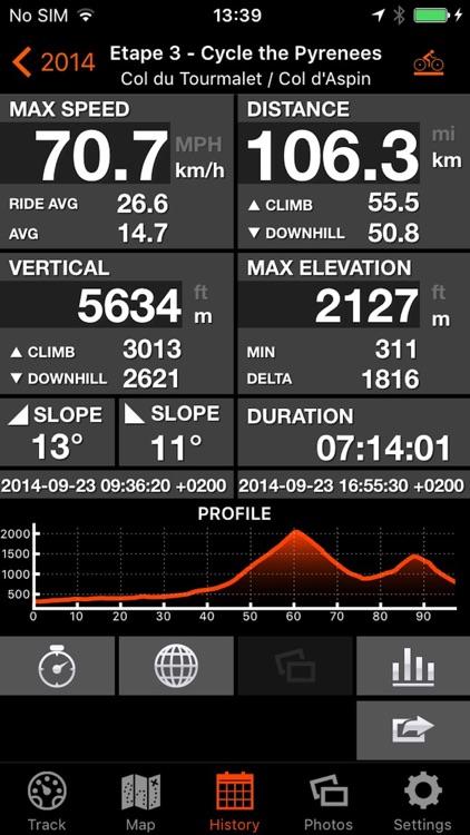 Bike Tracks screenshot-3