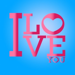 Love Valentine Letter Stickers