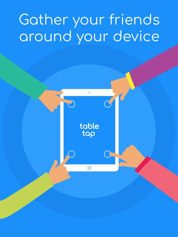 iPad Image of Table Tap - Tap In Challenge