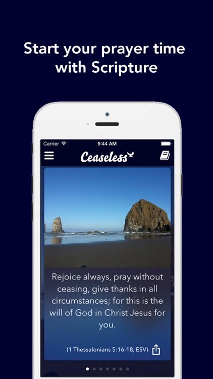 Ceaseless Prayer screenshot-0