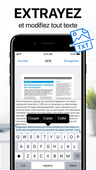 iScanner: Scanner document