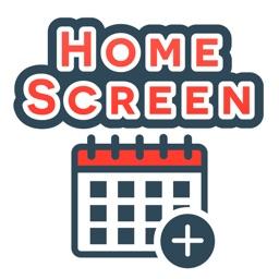 HomeScreen Calendar Widget