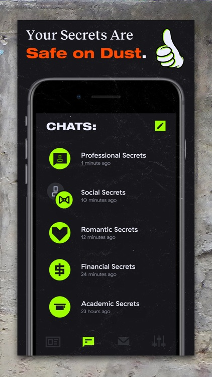 Dust - Private Texting screenshot-5