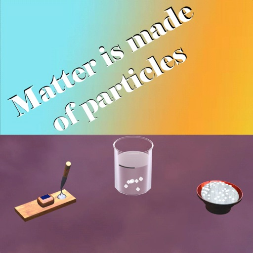 Matter is made of particles