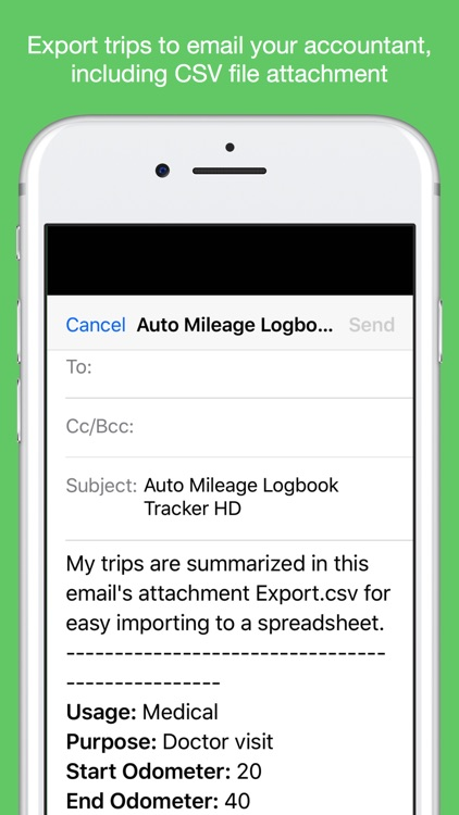Auto Mileage Logbook Tracker screenshot-5