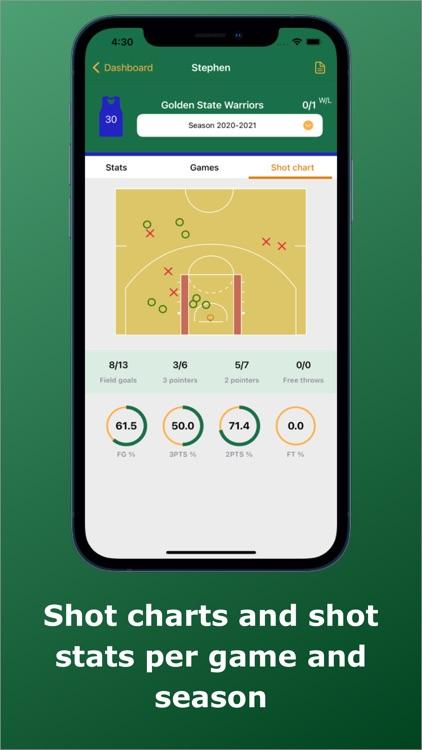 Basketball Stats Assistant screenshot-7