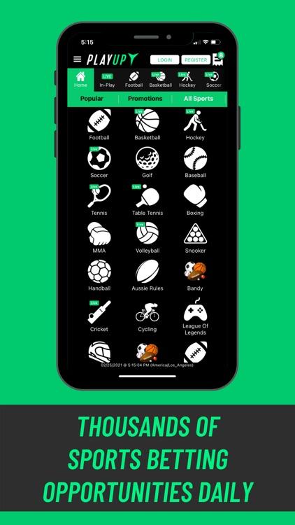 PlayUp Sportsbook screenshot-6
