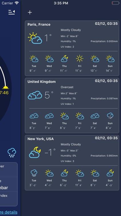 Weather forecast - Local&world screenshot-6