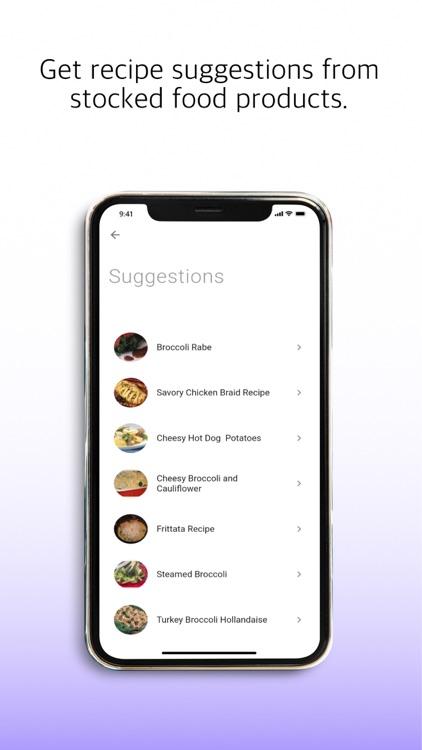 nosh - Food Stock Management screenshot-5