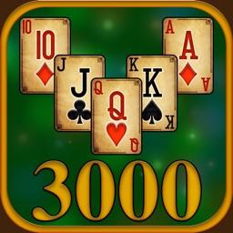 3000 TriPeaks Solitaire Games
