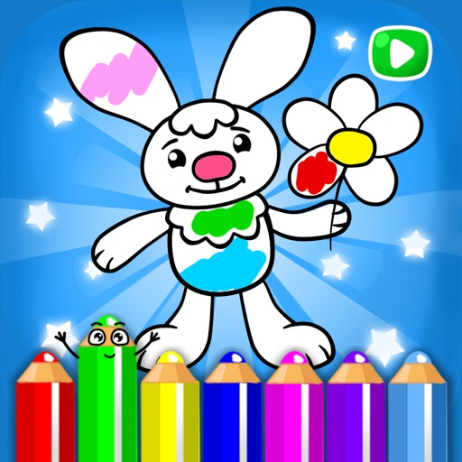 Live coloring book