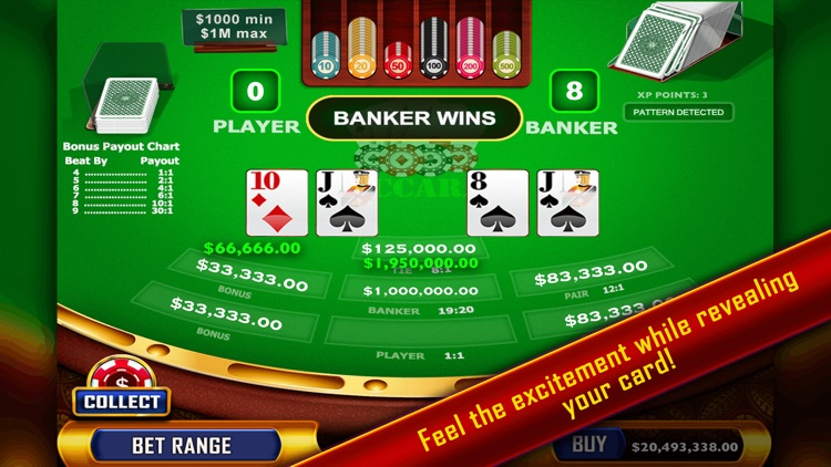 Baccarat - Casino Style screenshot-4