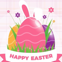 Easter Bunny - Cute Stickers