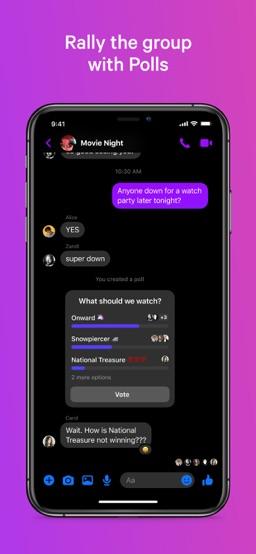 Messenger app screenshot