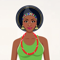 African Fashion Dress Up Game