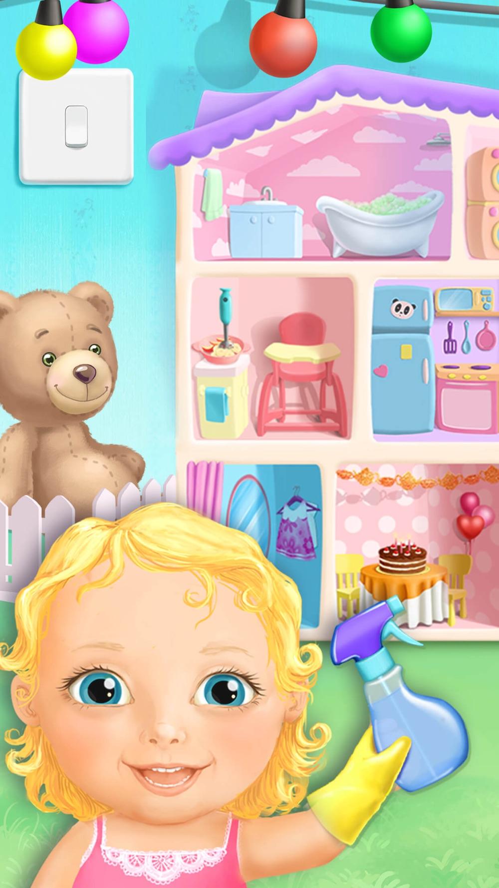 Sweet Baby Girl Doll House