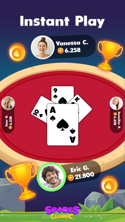Spades Classic Online screenshot-4