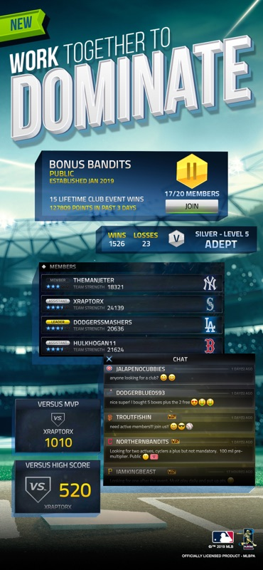 MLB Tap Sports Baseball 2019 - Online Game Hack and Cheat