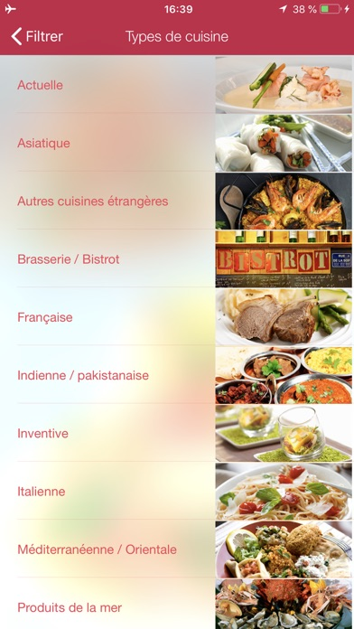 Screenshot for MICHELIN Guide Europe 2019 in Belgium App Store