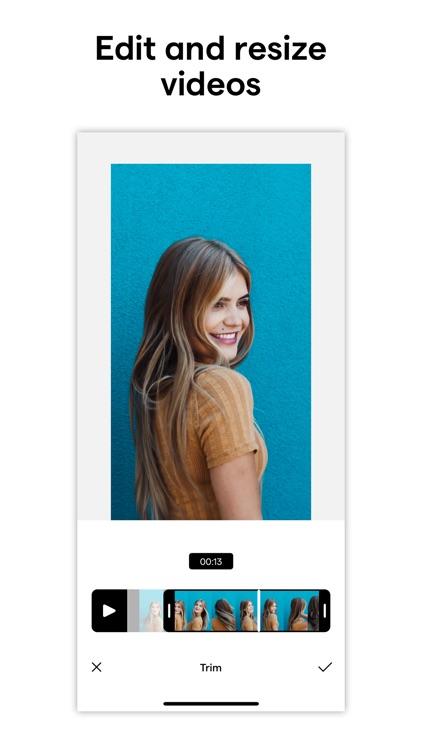 Instasize Photo Editor + Video screenshot-4