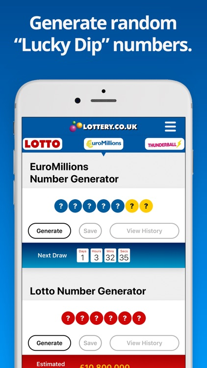 National Lottery Results screenshot-4