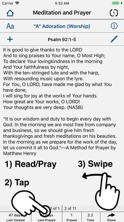 Christian Prayer Prompter screenshot-5