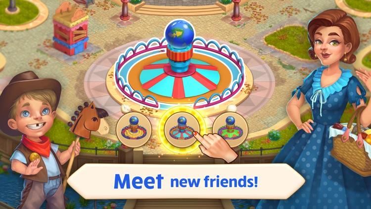 Matchland: Build A Theme Park screenshot-4