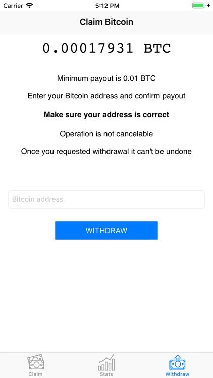 Claim Bitcoin screenshot-4