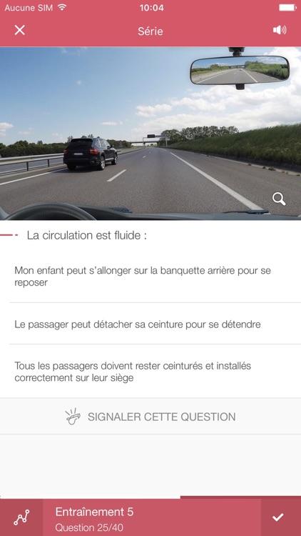 Code de la route 2019.