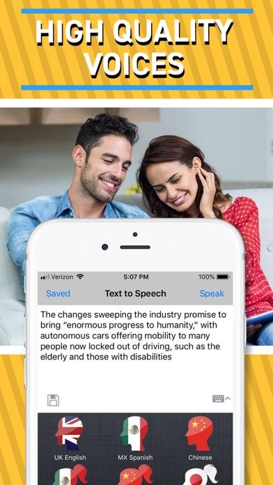 Text to Speech - Screenshot