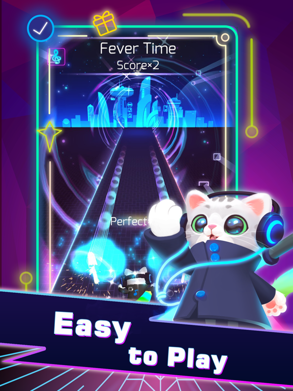 Sonic Cat-Slash the Beats screenshot 6