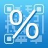 %税割引 - 楽々計算 電卓とメモ