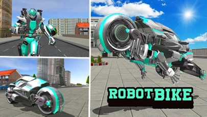 Robot Truck: Bike Transformersのおすすめ画像2
